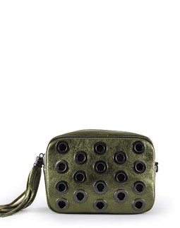 Клатч InBag Green metallic