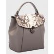 Сумка-рюкзак маленька InBag Grey 3