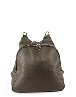 Сумка-рюкзак середня InBag Dark grey