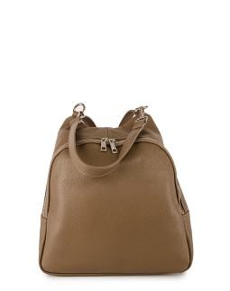 Сумка-рюкзак средняя InBag Dark taupe