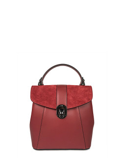 Сумка-рюкзак маленька InBag Dark red