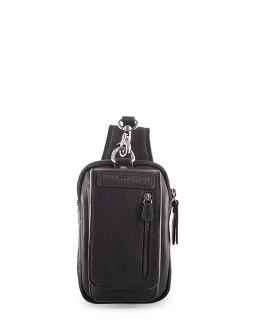 Поясная сумка маленькая Hill Burry Black