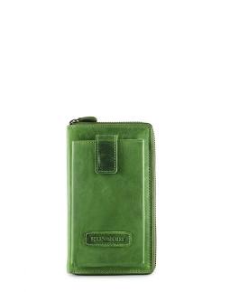 Гаманець з чохлом для телефону Hill Burry Green