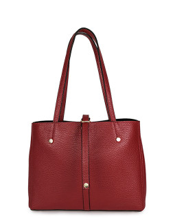Шоппер средний InBag Dark red