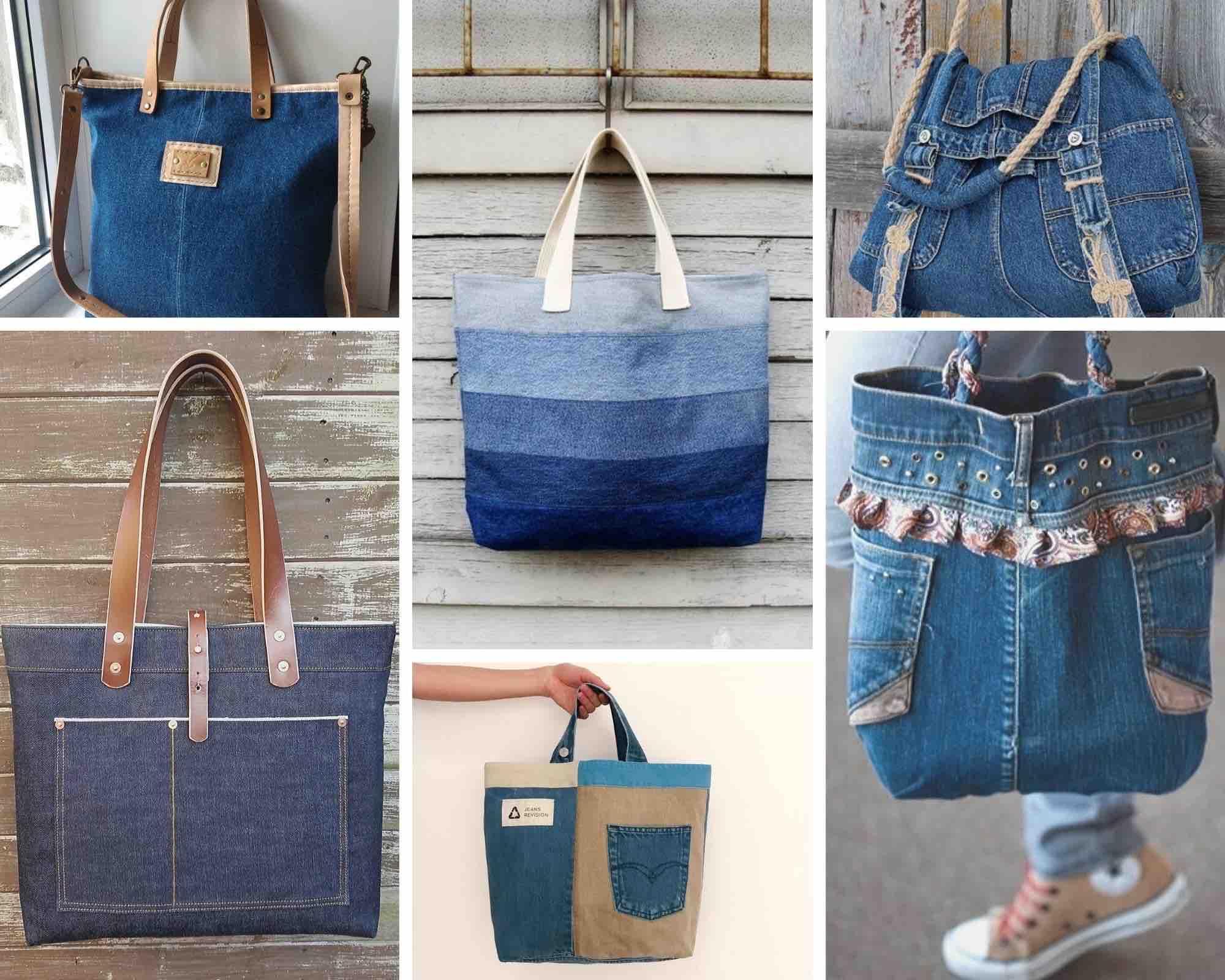 идеи джинсовых сумок