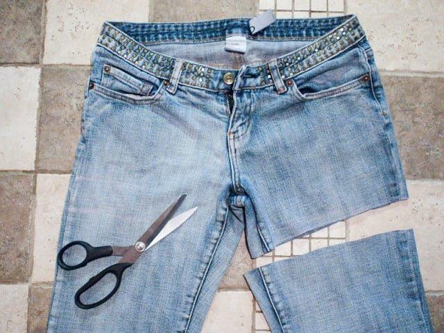 джинсы для изготовленя сумки